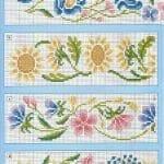 Kanaviçe Havlu Örnekleri Şemalı 39