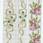 Kanaviçe Havlu Örnekleri Şemalı 40