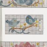 Kanaviçe Havlu Örnekleri Şemalı 44