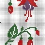 Kanaviçe Havlu Örnekleri Şemalı 6