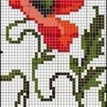 Kanaviçe Havlu Örnekleri Şemalı 70