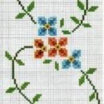 Kanaviçe Havlu Örnekleri Şemalı 79
