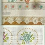Kanaviçe Havlu Örnekleri Şemalı 80