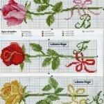 Kanaviçe Havlu Örnekleri Şemalı 85