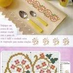 Kanaviçe Havlu Örnekleri Şemalı 90