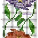 Kanaviçe Havlu Örnekleri Şemalı 92