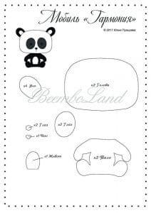 Keçe Panda Yapımı 9