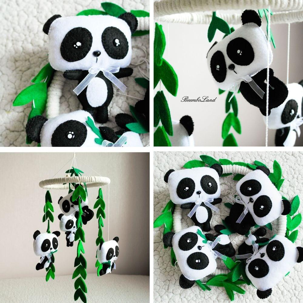 Amigurumi örgü panda – 10marifet.org | 1000x1000