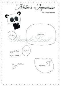 Keçe Panda Yapımı 27