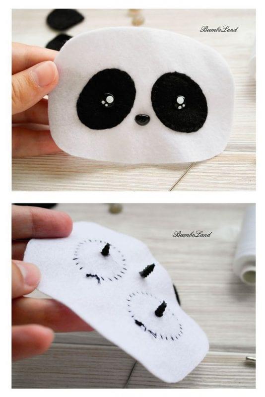 Keçe Panda Yapımı 2