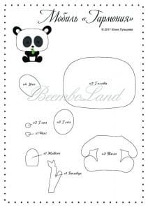 Keçe Panda Yapımı 29