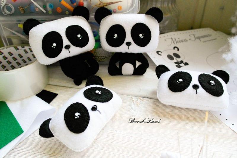 Keçe Panda Yapımı 30
