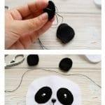 Keçe Panda Yapımı 35