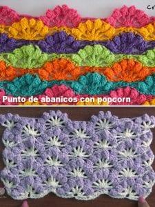 Popcorn Çiçekler Örgü Modeli Yapılışı 1