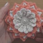 Tığ İşi Çiçek Motifi Nasıl Yapılır? 2