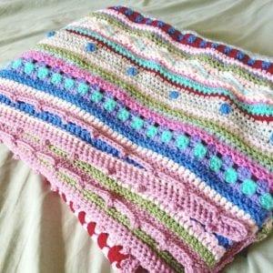 Tığ İşi Renkli Battaniye Nasıl Yapılır? 101