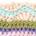 Tığ İşi Renkli Battaniye Nasıl Yapılır? 103