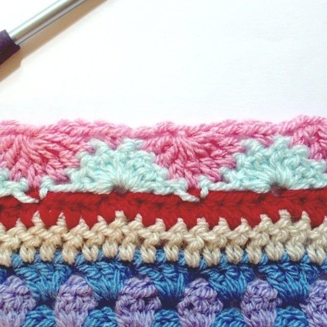 Tığ İşi Renkli Battaniye Nasıl Yapılır? 17