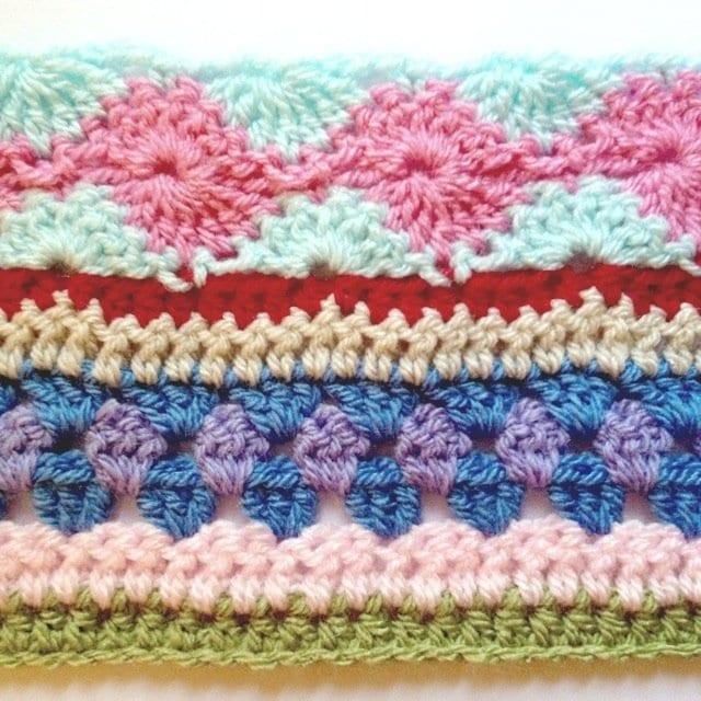 Tığ İşi Renkli Battaniye Nasıl Yapılır? 23