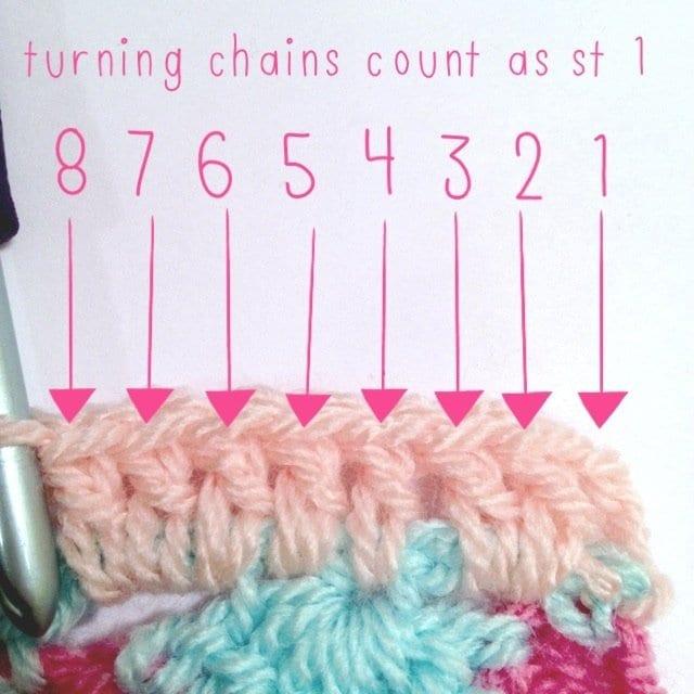 Tığ İşi Renkli Battaniye Nasıl Yapılır? 24