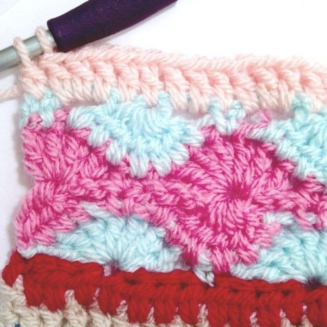 Tığ İşi Renkli Battaniye Nasıl Yapılır? 25
