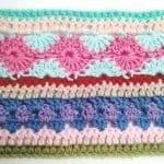 Tığ İşi Renkli Battaniye Nasıl Yapılır? 26