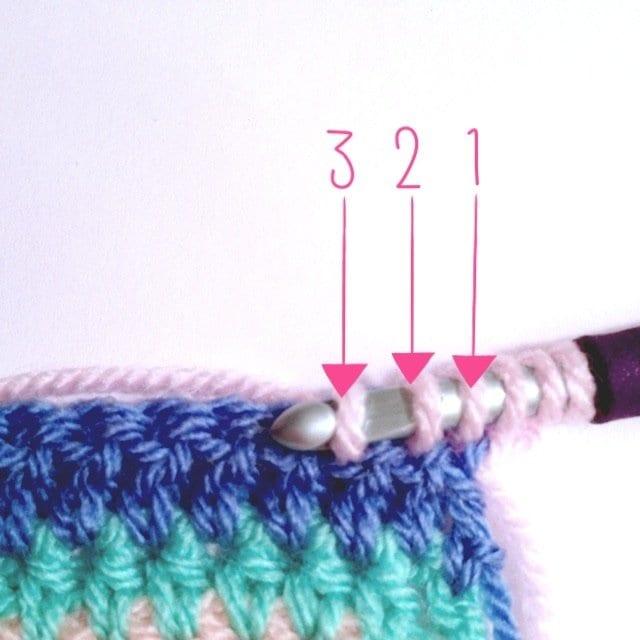 Tığ İşi Renkli Battaniye Nasıl Yapılır? 28