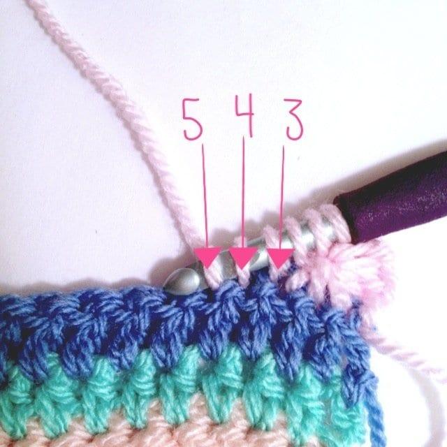 Tığ İşi Renkli Battaniye Nasıl Yapılır? 31