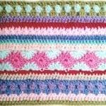 Tığ İşi Renkli Battaniye Nasıl Yapılır? 42