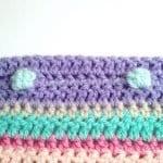Tığ İşi Renkli Battaniye Nasıl Yapılır? 48