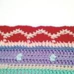 Tığ İşi Renkli Battaniye Nasıl Yapılır? 65
