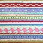 Tığ İşi Renkli Battaniye Nasıl Yapılır? 69