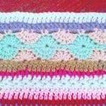 Tığ İşi Renkli Battaniye Nasıl Yapılır? 72