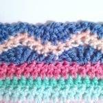 Tığ İşi Renkli Battaniye Nasıl Yapılır? 78