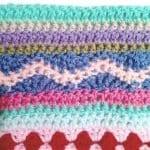 Tığ İşi Renkli Battaniye Nasıl Yapılır? 79