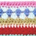 Tığ İşi Renkli Battaniye Nasıl Yapılır? 80