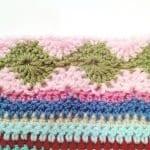 Tığ İşi Renkli Battaniye Nasıl Yapılır? 84