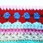 Tığ İşi Renkli Battaniye Nasıl Yapılır? 86