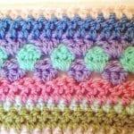 Tığ İşi Renkli Battaniye Nasıl Yapılır? 89