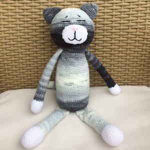Amigurumi Büyük Boy Kedi Yapımı Tarifi
