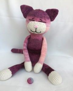 Amigurumi Büyük Boy Kedi Yapımı 13
