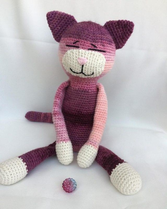 Ravelry: Amigurumi Etekli Kedi Yapımı pattern by Hatice Karatosun   800x640