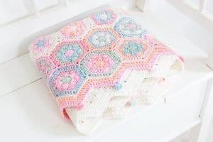 Bebek Battaniye Örgü 8