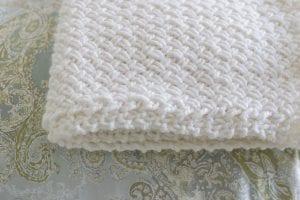 Çapraz Sepet Örgü Battaniye Yapımı 1