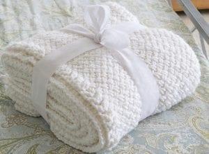 Çapraz Sepet Örgü Battaniye Yapımı 5