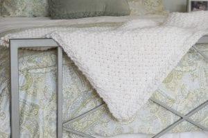 Çapraz Sepet Örgü Battaniye Yapımı 6