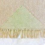 Delikli Kanvas Kumaş Üzerine Paspas Yapımı 16