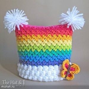 Gökkuşağı Örgü Şapka Yapımı