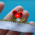 İğne Oyası Kiraz Modelleri Yapılışı Video 2