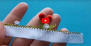 İğne Oyası Kiraz Modelleri Yapılışı Video